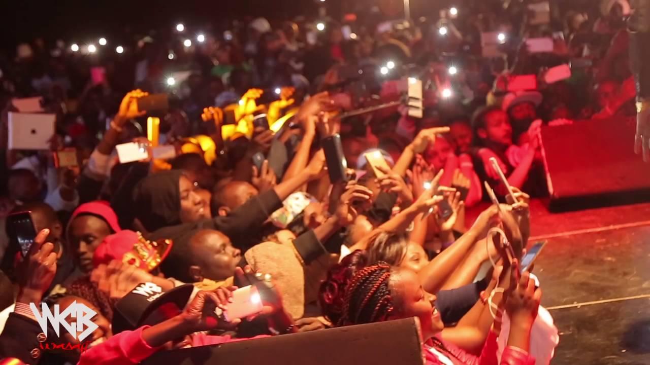Diamond Platinumz - Live performance at MERU/KENYA  2016 (PART 1)