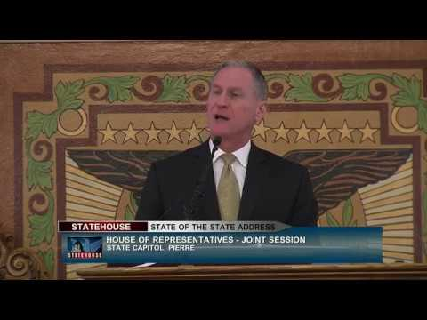 Governor Dennis Daugaard's State of the State Address