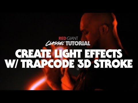 Classic Tutorial | Create Light Effects w/ Trapcode 3D Strok