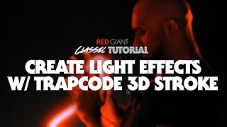 الكلاسيكية التعليمي   إنشاء تأثيرات الضوء w/ Trapcode 3D Stroke