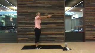 EXOS 30-min Bodyweight Metabolic Workout with Rachael