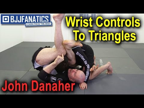 Wrist Controls To Triangles by John Danaher - YouTube