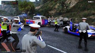 Download Patroli Polisi Kejar Kejaran Dengan Perampok Jalanan! GTA 5 Mod Polisi Indonesia
