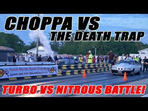 STREET OUTLAWS DEATH TRAP VS TONY BYNES CHOPPA!!