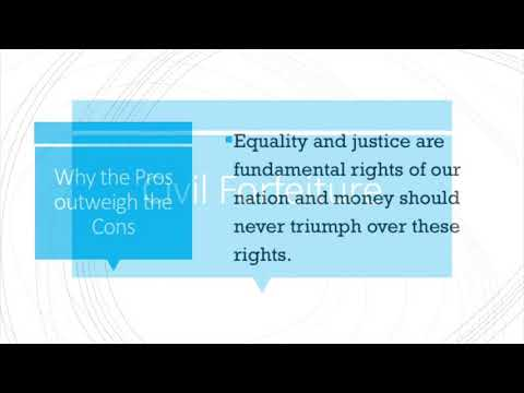 Poverty Final Project: Legal Aid and Civil Forfeiture: The Right to Justice