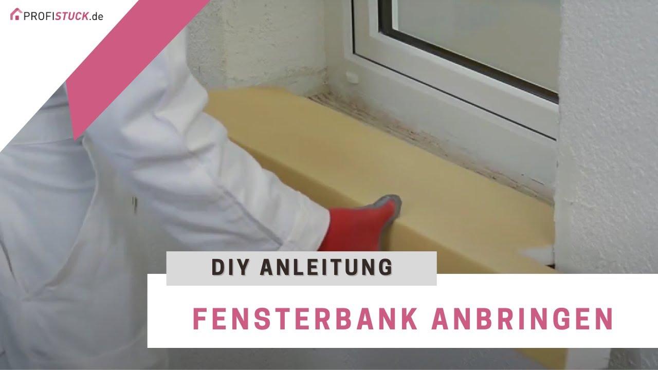 NMC DOMOSTYL® Fensterbank Montage Installation - YouTube