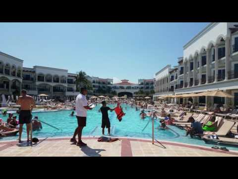 Pool Activity at The Royal Playa de Carmen Mexico May 2017 4K