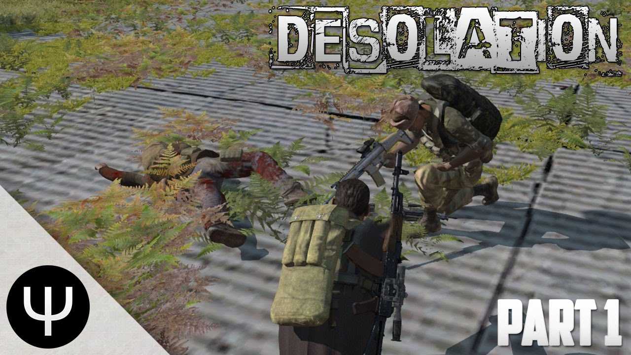 ARMA 3: Desolation Mod — Part 1 — Machine Gunner!