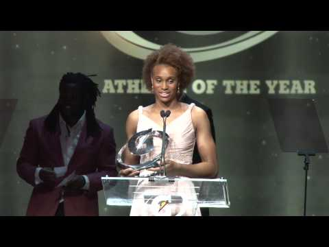 Brianna Turner wins the Girls Gatorade Player of the Year 2014
