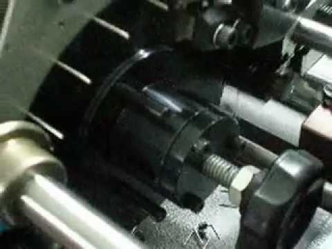 RF-101CB, Taped Axial Lead Forming Machine, Resistor Lead Former -- Punching Lead