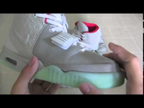 c5f7a8de8108e Nike Air Yeezy 2 Real vs Fake - YouTube