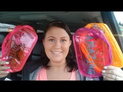 Quick Dollar Tree Haul   Amazing New Finds   OMG Cosmetic Bags