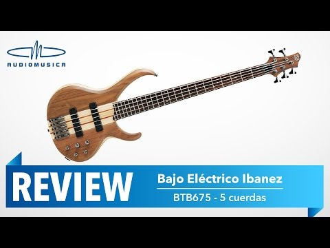 REVIEW / Bajo Eléctrico Ibanez BTB675 color Natural Flat