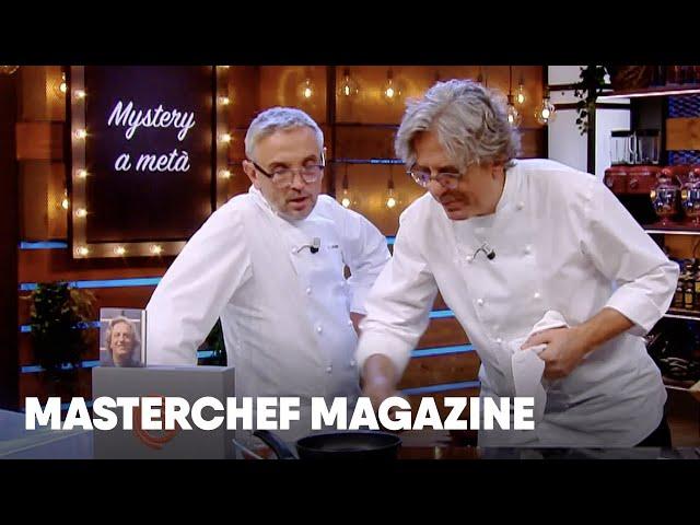 Mystery a metà con Bruno Barbieri e Giorgio Locatelli: Agnello in crosta | MasterChef Magazine