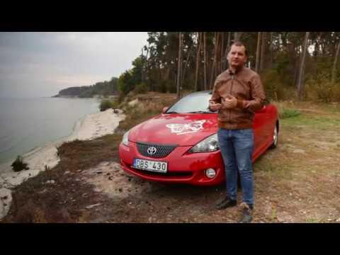 Обзор Toyota Camry Solara 3900 Euro + 900 Euro