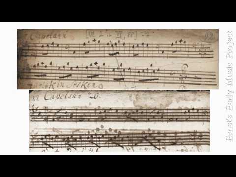 Capelahn, German dance music from the 18th century
