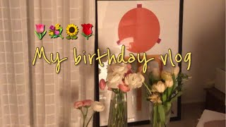 Vlog) 생일 주간 일상 + 선물 언박싱 (Lemai…