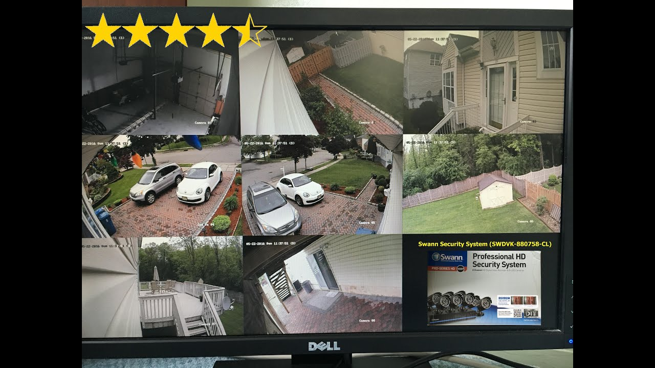 Swann security system swdvk 880758 cl setup youtube solutioingenieria Images