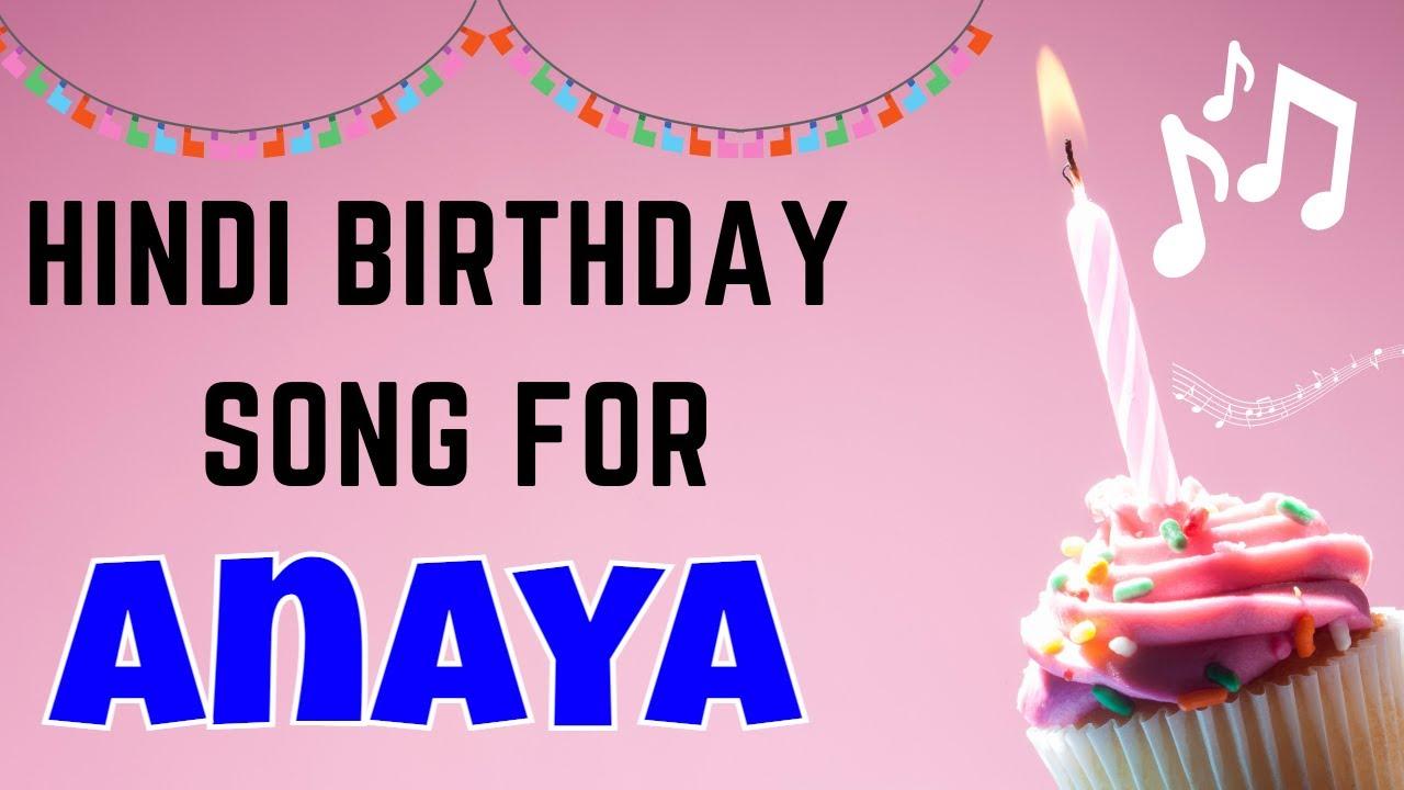 Happy Birthday Anaya Song | Birthday Song for Anaya | Anaya Happy Birthday Song Download