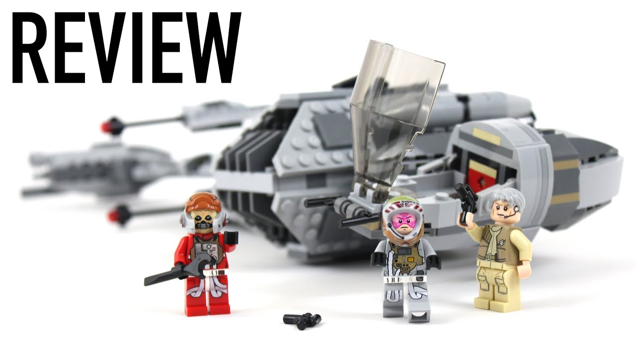 lego star wars b-wing starfighter review - set 75050 - youtube