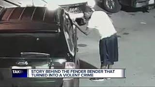Story behind fender bender that turned into violence