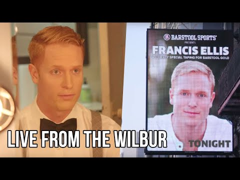 Behind the Scenes of Barstool Sports First Comedy Special Featuring Francis Ellis