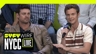 Amazon's The Boys Cast Interview   NYCC 2018   SYFY WIRE