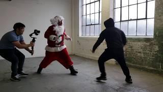 Tyrone Magnus Saves Christmas - Fight Scene Clip #1!!!