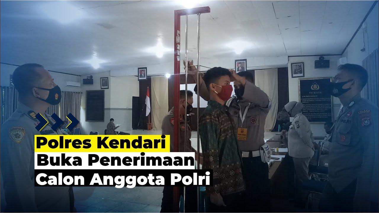 Polres Kendari Buka Penerimaan Calon Anggota Polri