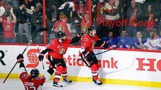 Ottawa Senators All 2017 Playoff Goals