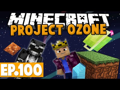 Minecraft Project Ozone - FINALE! #100 [Modded HQM Skyblock]