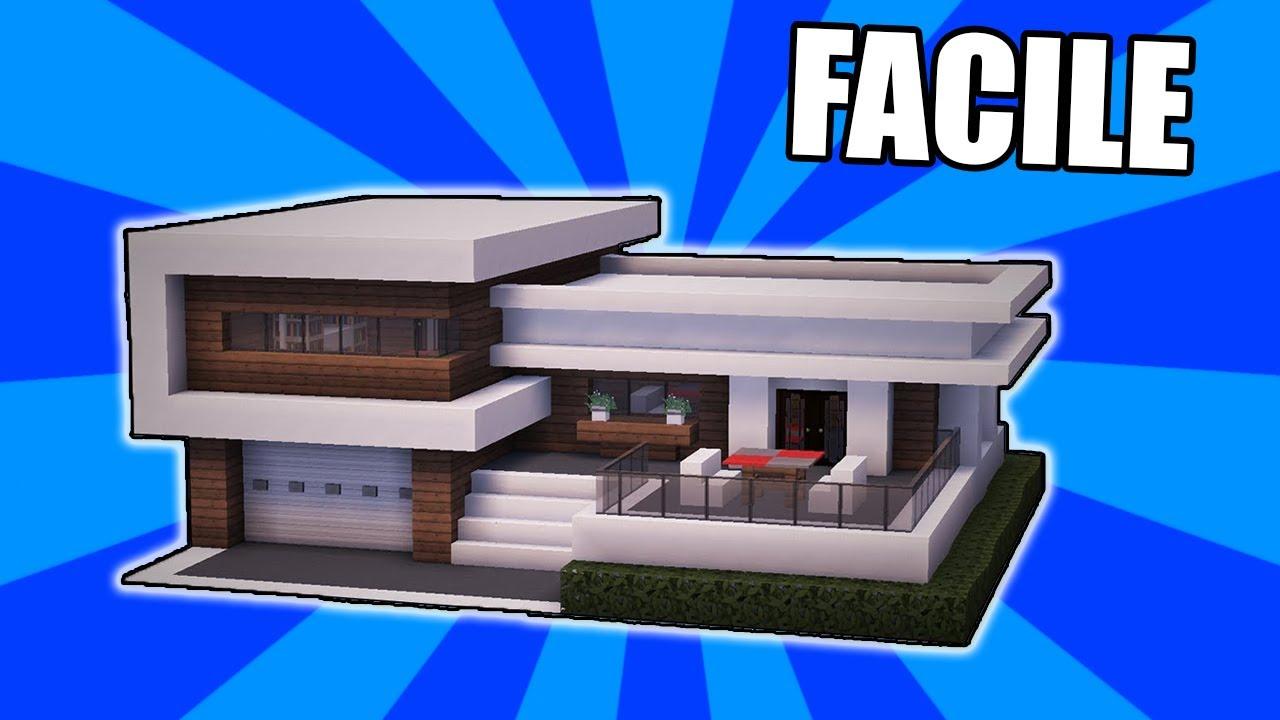 Come costruire una casa moderna bellissima minecraft tutorial facile youtube for Colori casa moderna