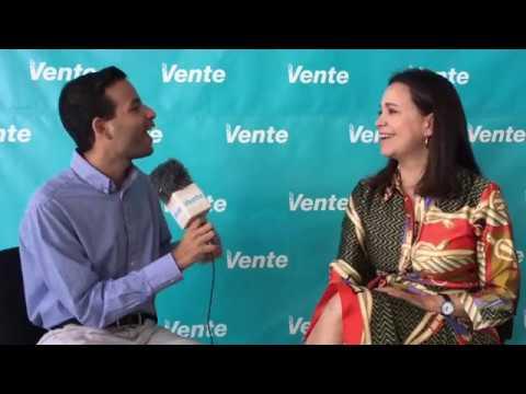 #EntrevistaVente conversamos con María Corina Machado, coordinadora Vente Venezuela.