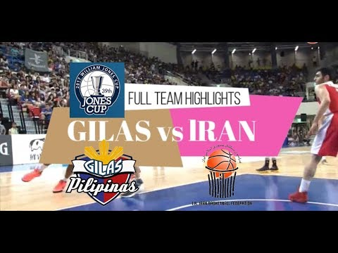 Full Game Highlights Philippines (Gilas) vs Iran 2017 William Jones Cup