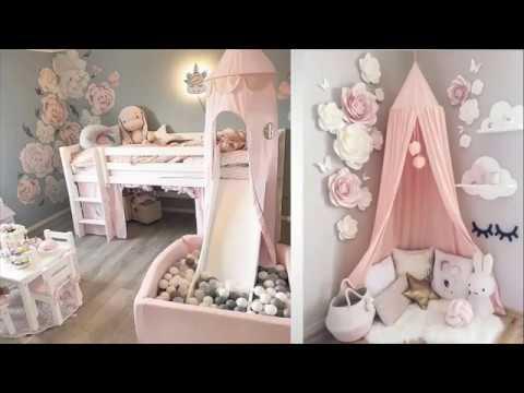 idées de décoration moderne de chambre d\'enfants (filles) 2020/ ديكور غرفة  بنات