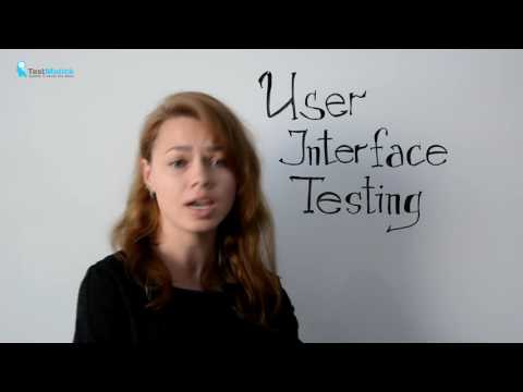 User Interface Testing