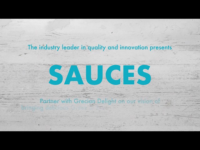 How It's Made: Grecian Delight Sauces