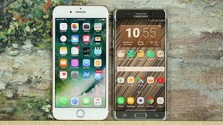 iphone 7 plus vs samsung galaxy note 7 full comparison