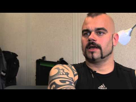 Sabaton interview - Joakim (part 1)