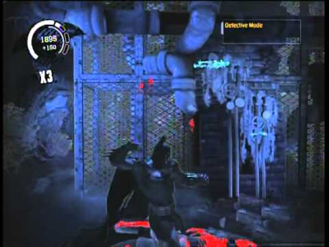 Batman: Arkham Asylum Walkthrough - Shutting Down The East and West Pump |