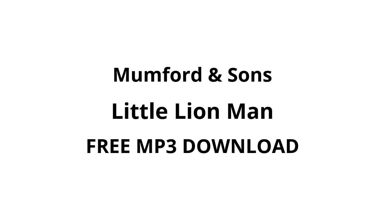 Little lion man sheet music | mumford & sons | banjo.