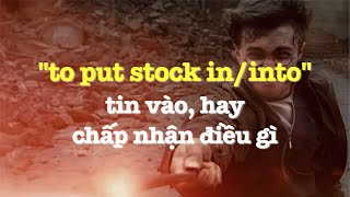 Học tiếng Anh qua phim ảnh: Put Stock In - phim Harry Porter (VOA)