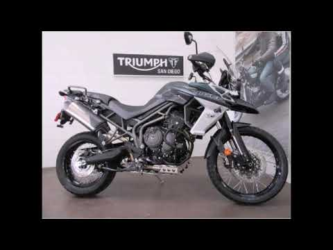 Review on triumph tiger 800....!
