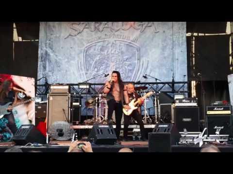 Saratoga - Etérea  (LIVE)