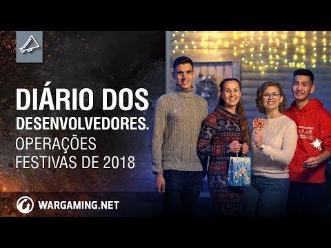 World Of Tanks - Diário Dos Desenvolvedores: Operações Festivas de 2018