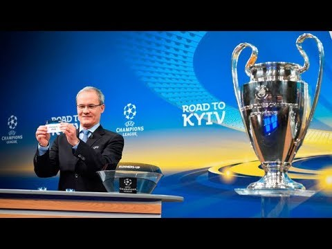 SORTEIO DA UEFA CHAMPIONS LEAGUE 2017/2018 - oitavas de final