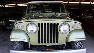 1970 Jeepster Commando 4x4 - 225 Buick V6