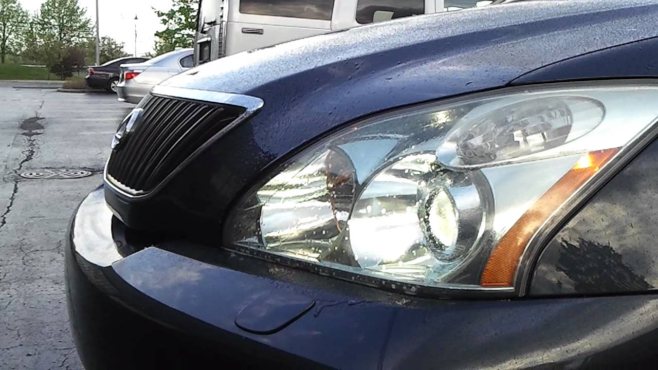 Lexus Rx350 Headlight Washer омыватель фар Youtube