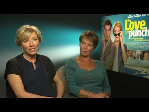 Emma Thompson and Celia Imrie Interview - Love Punch