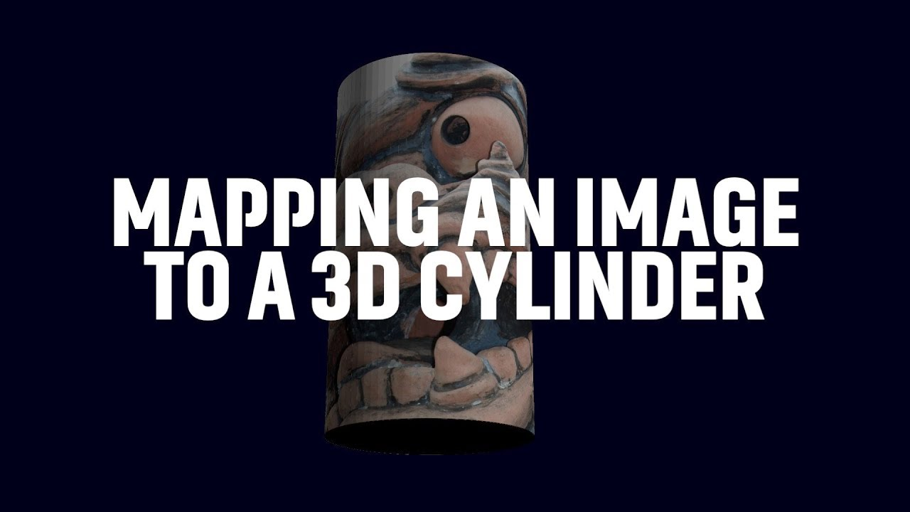 Apple Motion Tutorial: Mapping an Image to a Cylinder